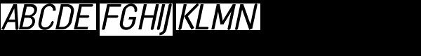 Monolein-Slanted-Regular  What Font is