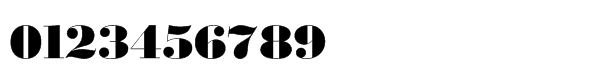 Monotype Bodoni Std Ultra Bold Font OTHER CHARS