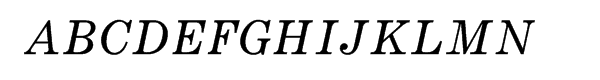 Monotype Century Pro Expanded Italic  What Font is