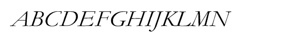Monotype Garamond Cyrillic Inclined  Fuentes Gratis Descargar