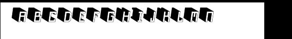 Nautilo™ Variations 3D Font UPPERCASE