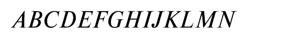 Newton Multilingual Italic  What Font is