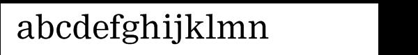 Nimrod® Cyrillic Font LOWERCASE