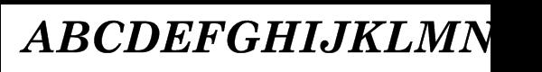 Nimrod® Pro Greek Bold Italic  What Font is