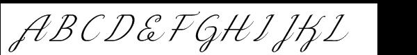 Okay Std Cursive Italic Fuentes Gratis Descargar