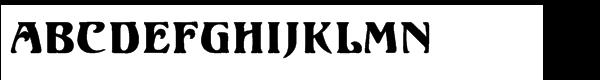 Ortem Regular  What Font is