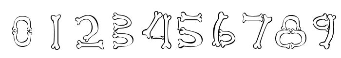 Osselets Font OTHER CHARS
