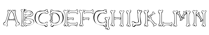 Osselets  What Font is