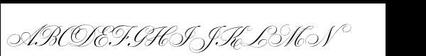 Parfumerie Script Std Old Style  What Font is