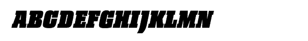 Pharaon Ultra Bold Italic  What Font is