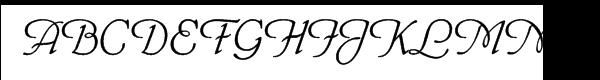 Phyllis™ Font UPPERCASE