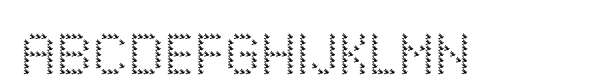Pixeluxe Peace  What Font is