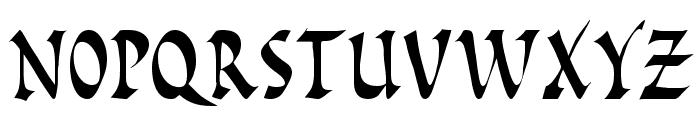 Pompeii Caps Font UPPERCASE