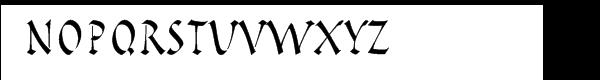 Pompeijana™ Roman Package Font UPPERCASE