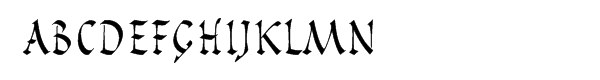 Pompeijana™ Roman Package Font LOWERCASE