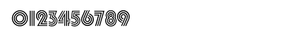 Pump™ Triline Font OTHER CHARS