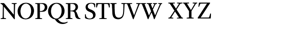Quadriga BQ-Reg SC Font UPPERCASE