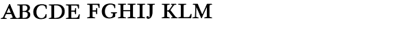 Quadriga BQ-Reg SC Font LOWERCASE