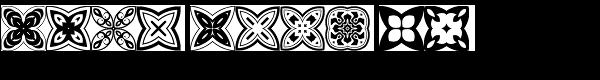 Quatrefoil Font OTHER CHARS
