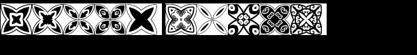 Quatrefoil Font LOWERCASE