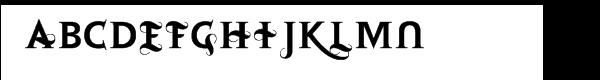 Retoric Alternate  What Font is