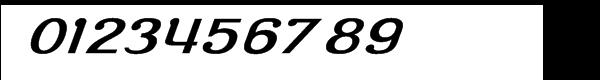 Roppongi Normal Oblique Font OTHER CHARS