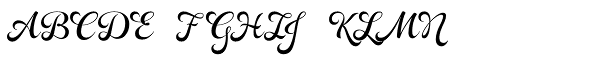 Rosarian  What Font is