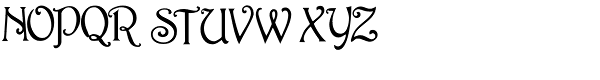 Rossetti Font UPPERCASE
