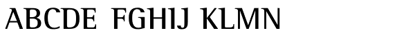 Rotis Semi Serif Pro 65 Bold  What Font is