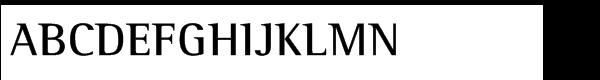 Rotis® Semi Serif Std 65 Bold  What Font is