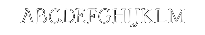 Rough Com Outline Free Fonts Download