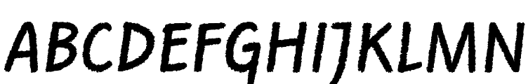 Rough the Type Free Fonts Download