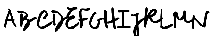 RoughNotesSample  What Font is