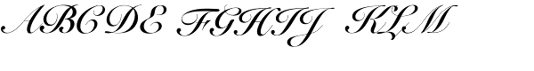 Snell roundhand script bold font Roundhand calligraphy