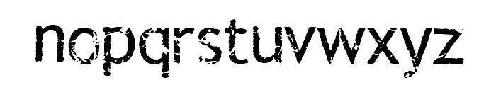 Rub This! Transfer Sheet Font LOWERCASE