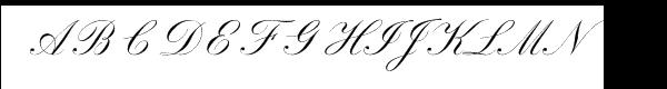 Sackers English Script les polices de caractères gratuit t�l�charger