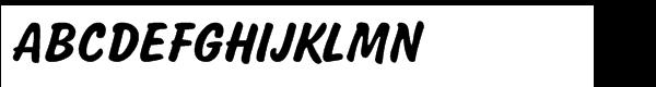 Salsbury Regular  What Font is