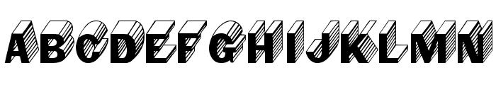 Salter Medium Font LOWERCASE