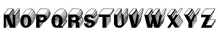 Salter Font UPPERCASE