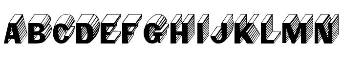 Salter Font LOWERCASE
