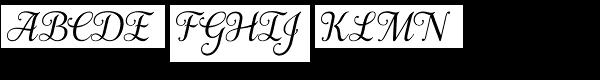 Samantha Italic BASIC  What Font is