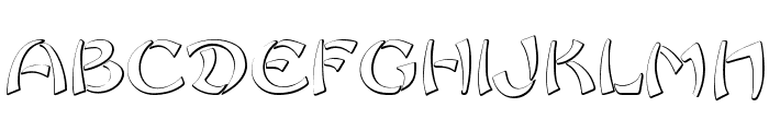 Sayonara Beveled  What Font is