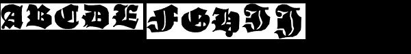 Schneidler Grobe Gotisch  What Font is