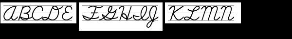 School Std Script Lined  What Font is