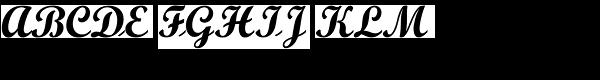Script Bold MT  What Font is