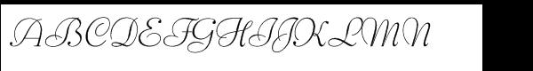 SG Bernhard Schoenschrift SB Std Light  What Font is