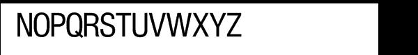 SG Europa Grotesk SH Regular Condensed Font UPPERCASE