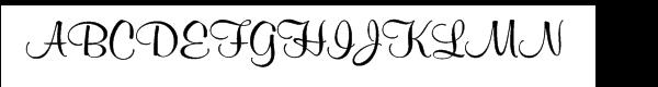 SG Murray Hill SH Regular  What Font is