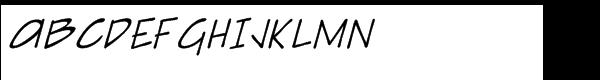 Sketchpad Note Italic  नि: शुल्क फ़ॉन्ट्स डाउनलोड