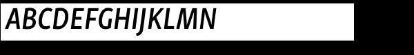 Skolar Sans PE Condensed SemiBold Italic  What Font is